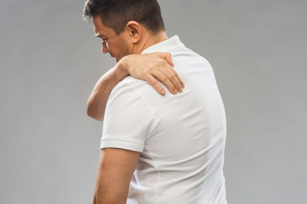 What is the risk of back pain